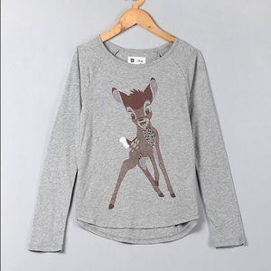 Grey Reindeer Gap Kids Disney